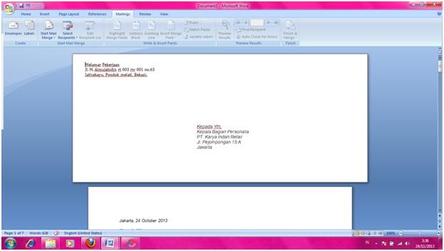 Cara Membuat Envelope Bebellarizki